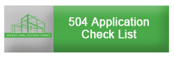 504 Application Check List